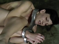 Beauty is getting extreme torturing for her pretty feet