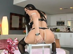 Hawt honey can't live without getting her anal and fur pie drilled